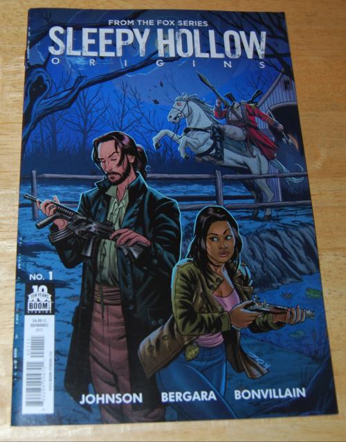Sleepy hollow comics origins