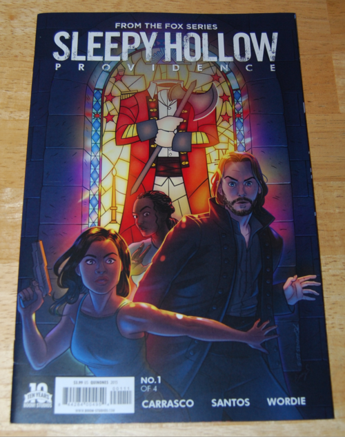 Sleepy hollow comics providence 1