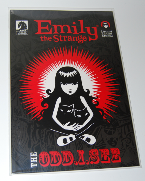 Emily strange comic books special edition the odd i see