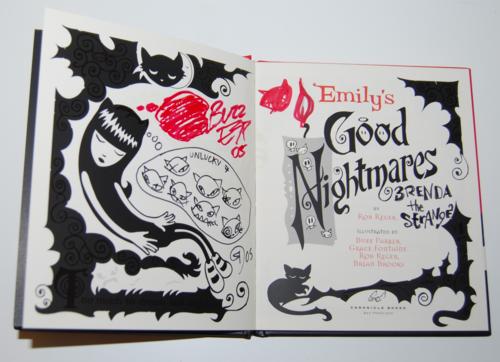 Emily strange books good nightmares 4