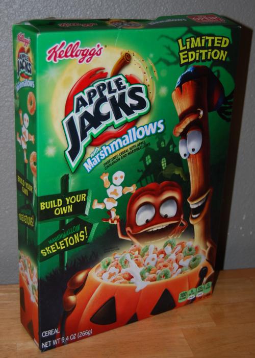 Halloween apple jacks