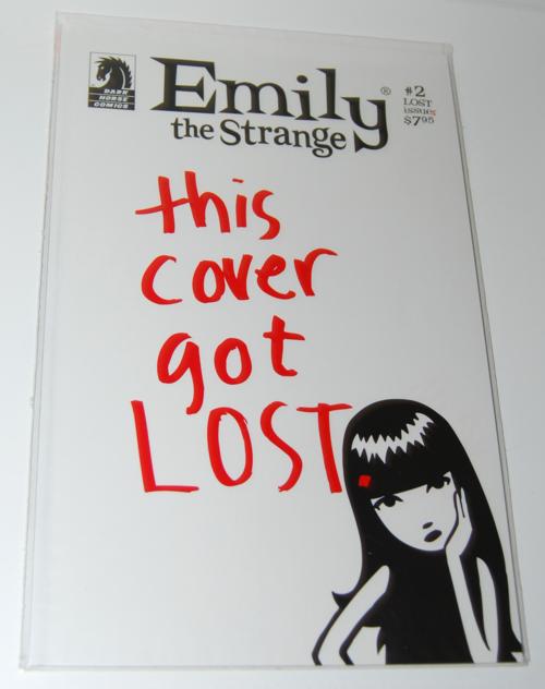 Emily the strange comic book 2