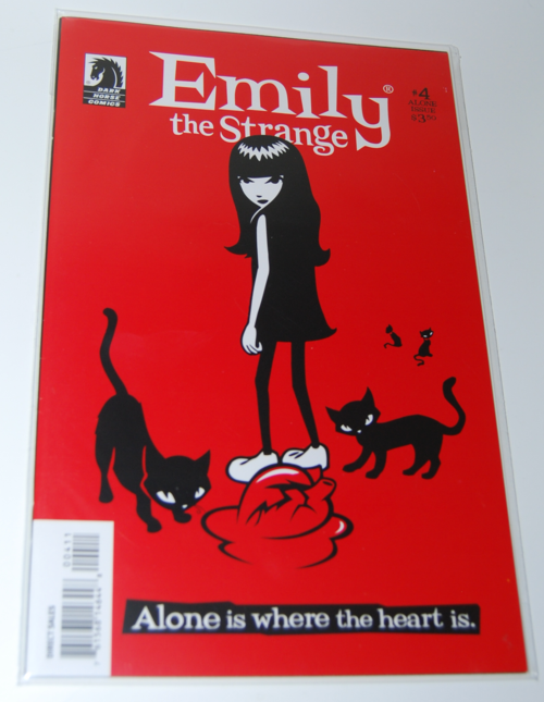 Emily the strange comic book 4