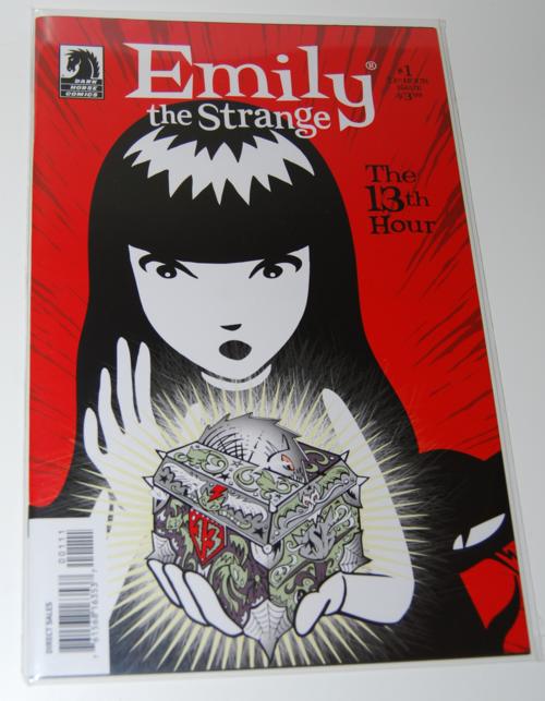 Emily strange comic books 13th hour