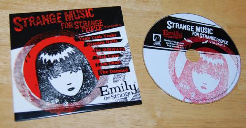 Emily strange strange music for strange people cd