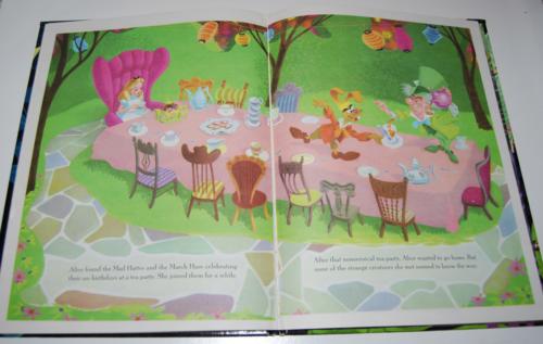 Alice in wonderland big golden book 4