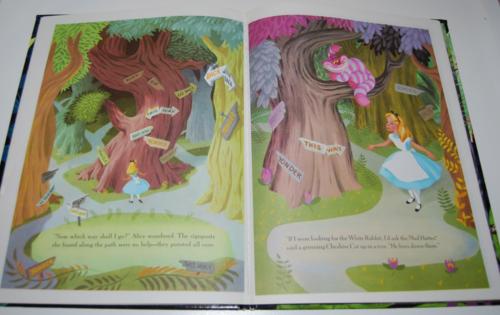 Alice in wonderland big golden book 5