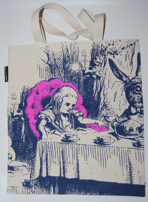 Alice in wonderland bookbag