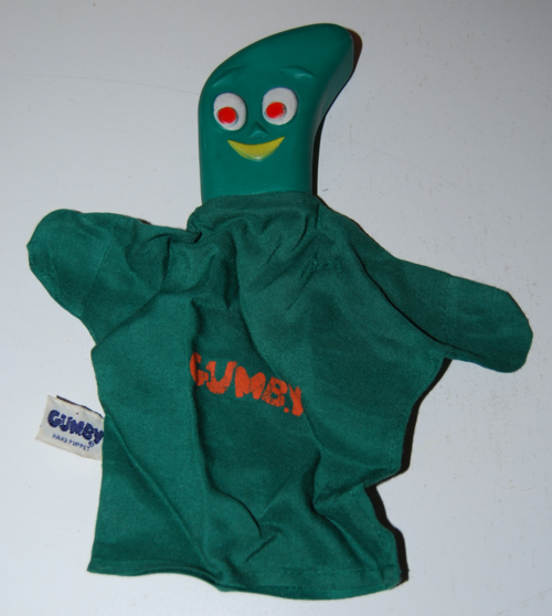 Lakeside gumby puppet