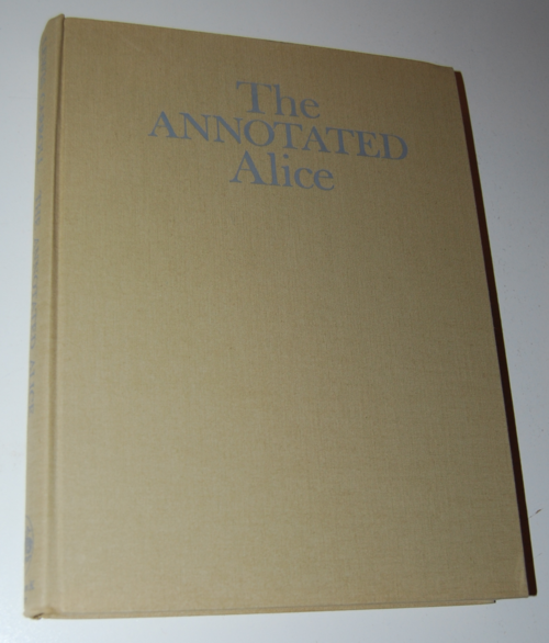 The annotated alice first edition 1