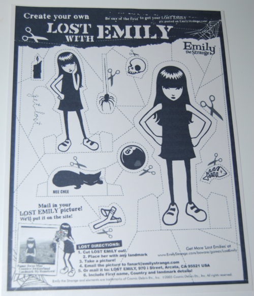 Lost with emily