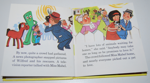 Gumby & pokey to the rescue whitman book 8