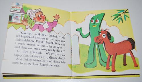 Gumby & pokey to the rescue whitman book 9
