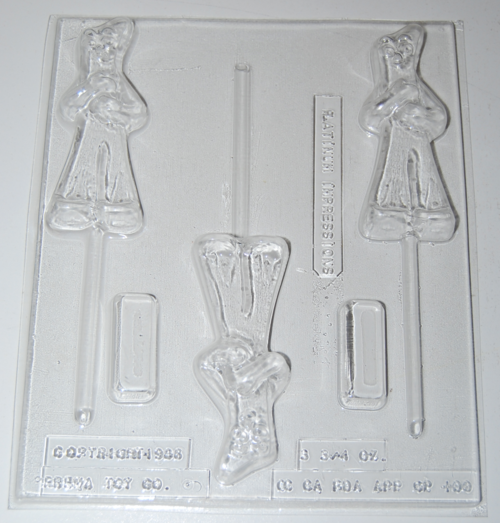 Gumby chocolate mold x