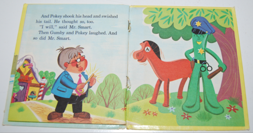 Gumby & pokey whitman book 8
