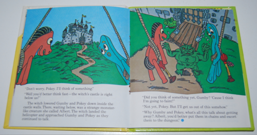 Gumby telestory book the witty witch 5