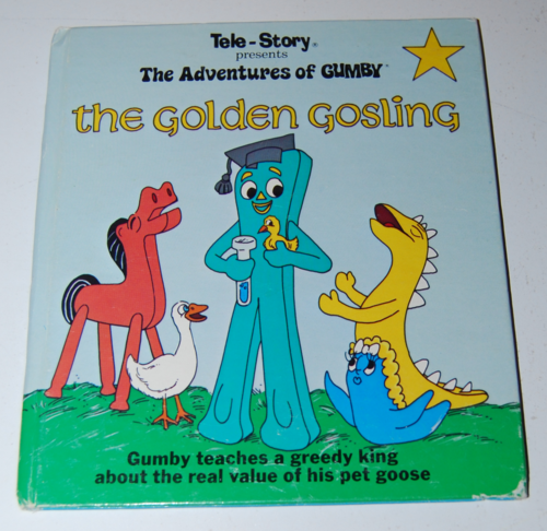 Gumby telestory book the golden gosling