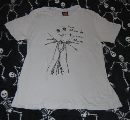 T shirts nightmare before xmas 3