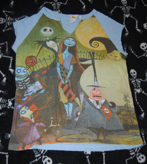 T shirts nightmare before xmas 1