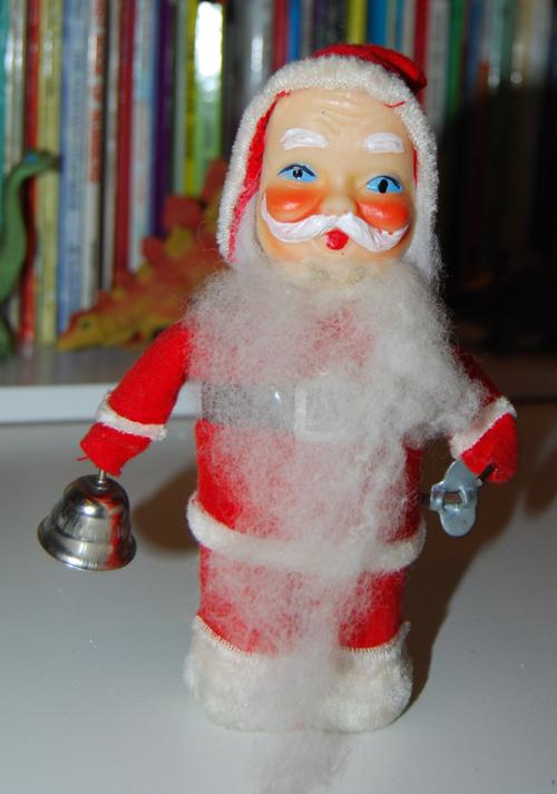 Vintage santa toy 1