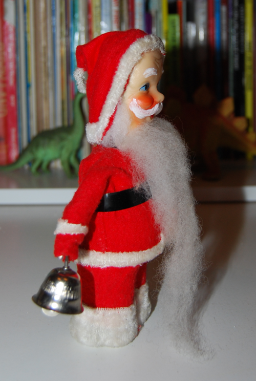 Vintage santa toy