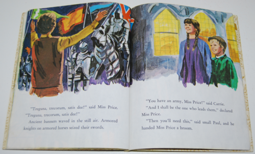 Little golden book bedknobs & broomsticks 6