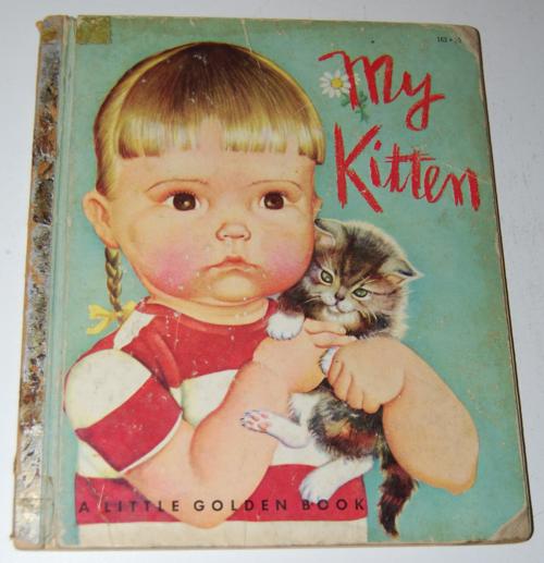 Little golden book my kitten