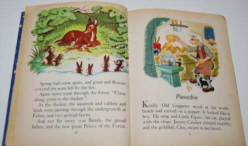 Walt disney storytime giant little golden book 5
