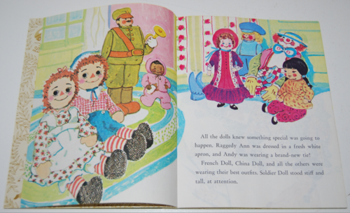 Little golden book raggedy ann & andy little grey kitten 2