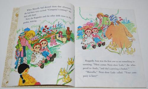 Little golden book raggedy ann & andy little grey kitten 3