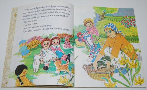 Little golden book raggedy ann & andy little grey kitten 4