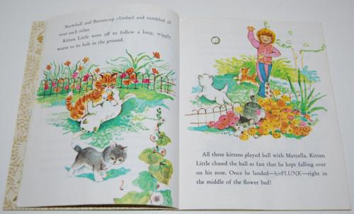 Little golden book raggedy ann & andy little grey kitten 5