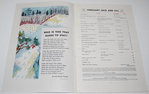 Jack & jill magazine february 1946 1