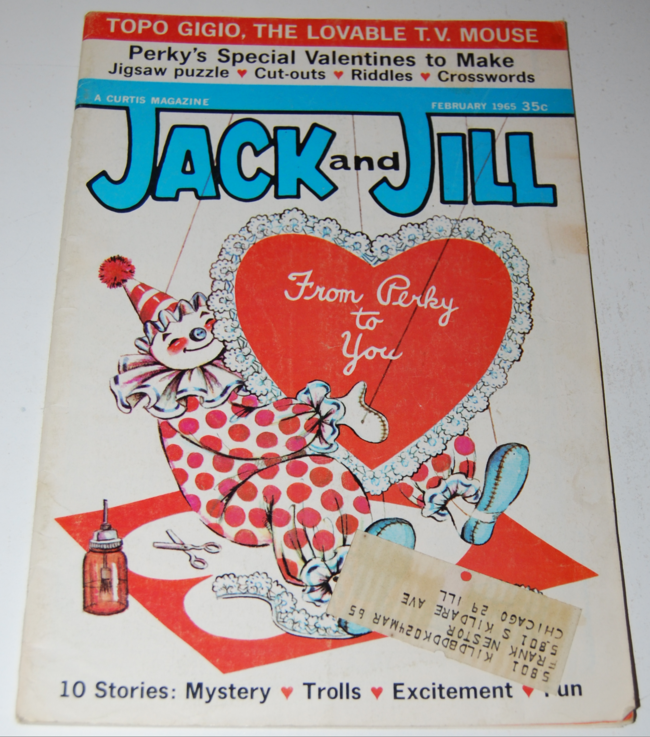 jack & jill magazine ~ february 1965