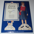 American girls paper doll molly