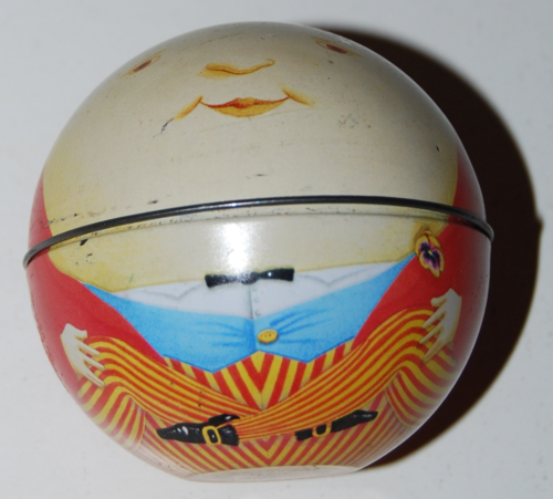 Humpty dumpty tin ball
