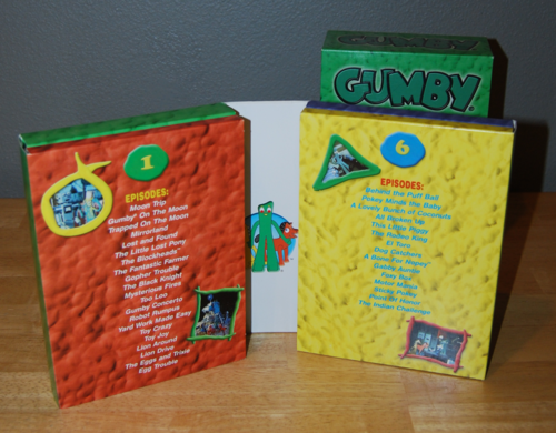 Gumby dvd set 4