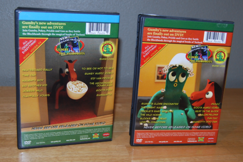 Authorized gumby dvds x