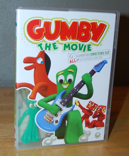 Gumby the movie dvd