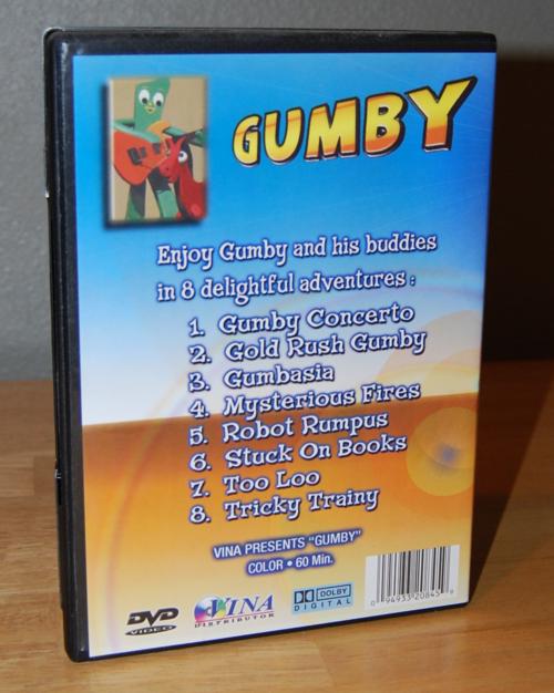 Goodtimes gumby dvd x