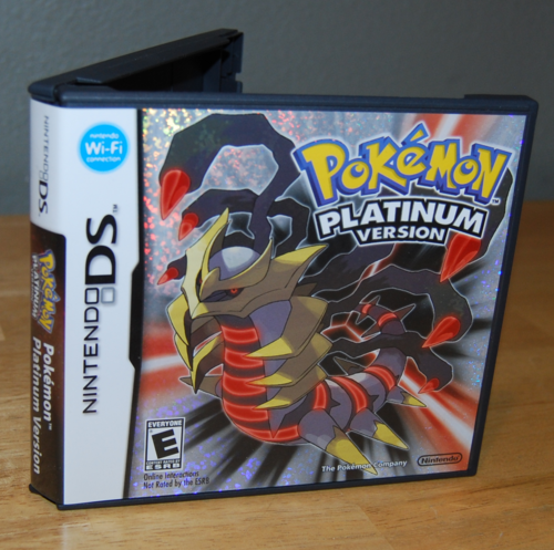 Pokemon ds platinum version