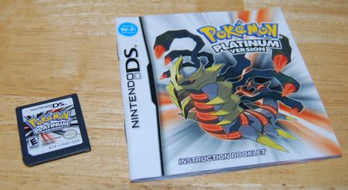 Pokemon ds platinum version 3
