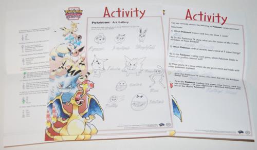 Pokemon league activity pages 3