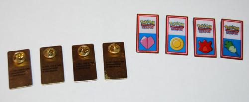 Pokemon league badges 1