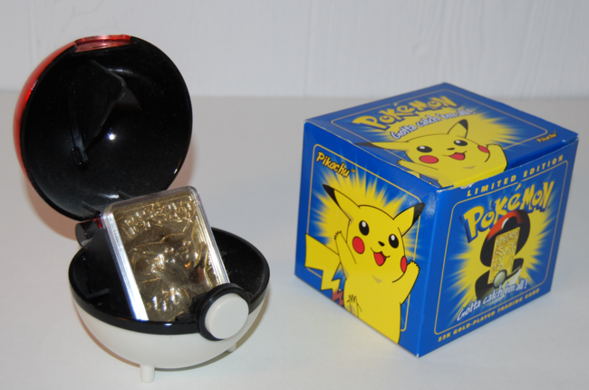 pokemon anniversary ~ bk gold collector cards