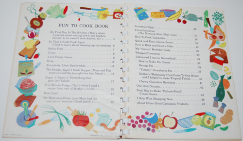 Fun to cook book carnation 2