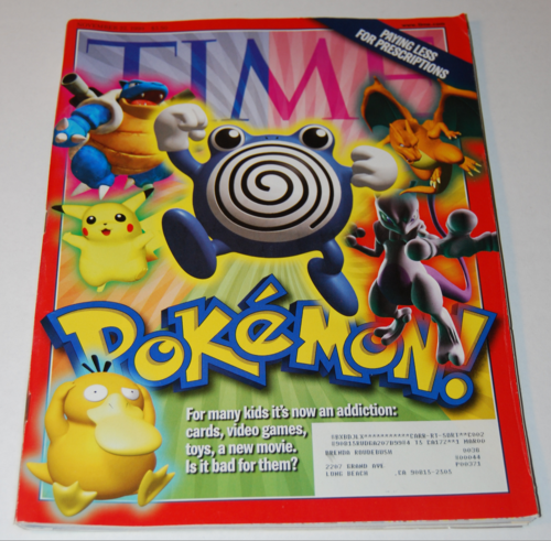 Time magazine pokemon