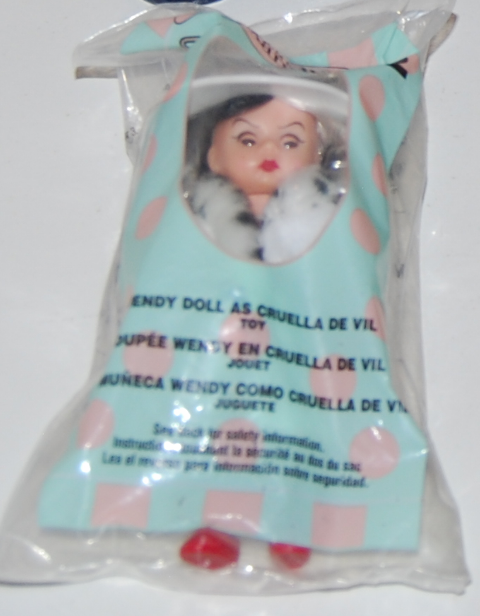 Wendy as cruella de vil madam alex happy meal doll