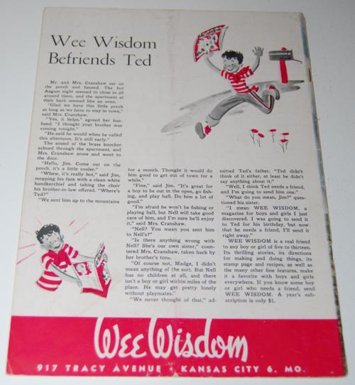 Wee wisdom 1947 xxx