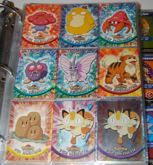 Pokemon cards topps x